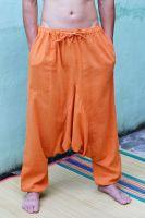 Яркие индийские алладины / афгани. Хлопок, лен. Купить в интернет магазине