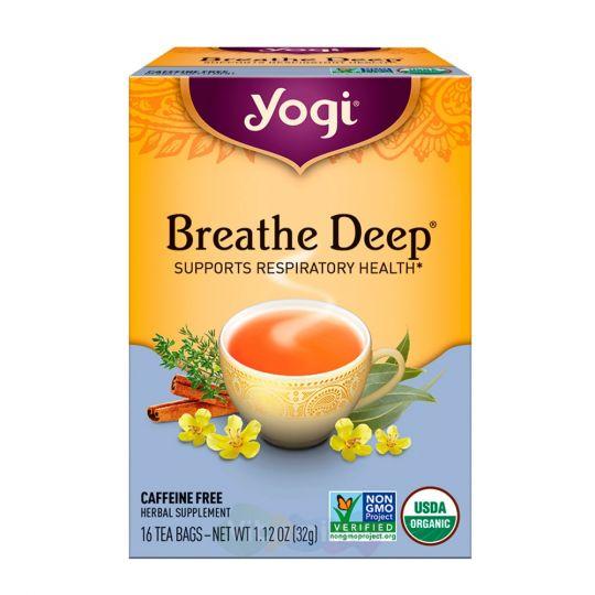 Yogi Tea Дышите Глубже Breathe Deep, 16 пакетиков
