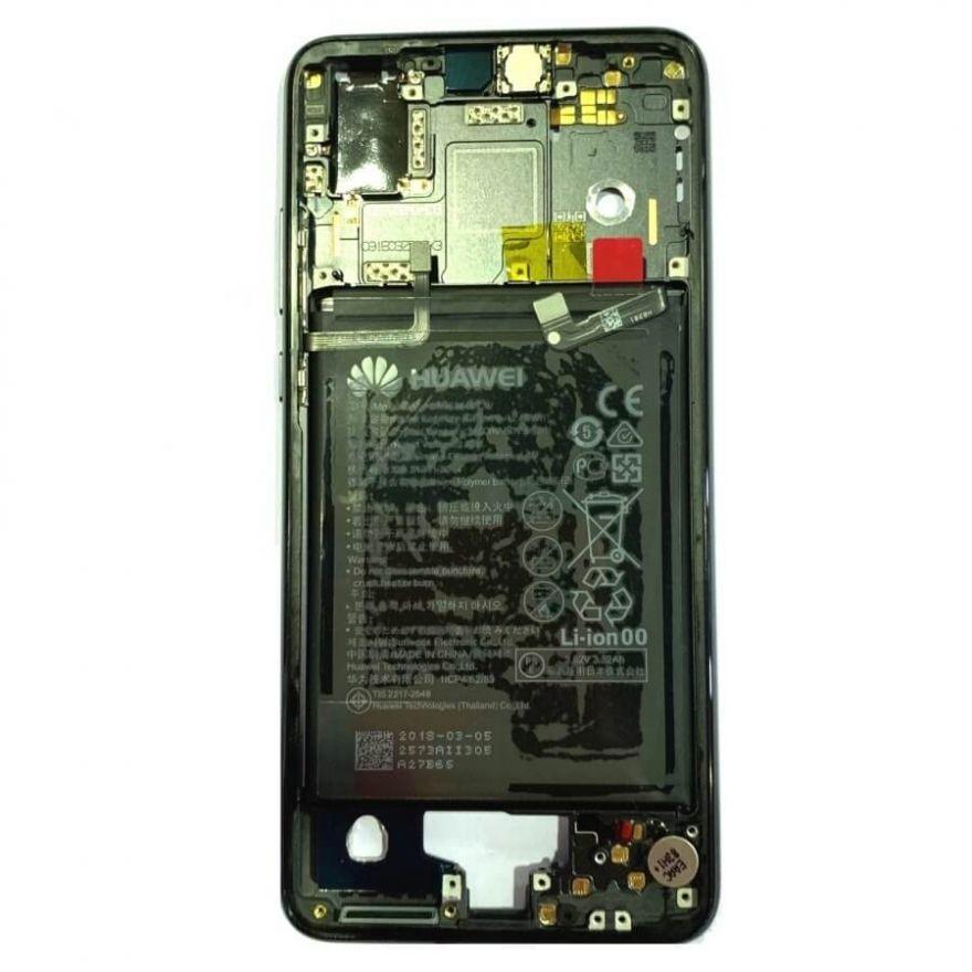 Средняя часть корпуса в сборе с аккумулятором для Huawei P20 (Original)