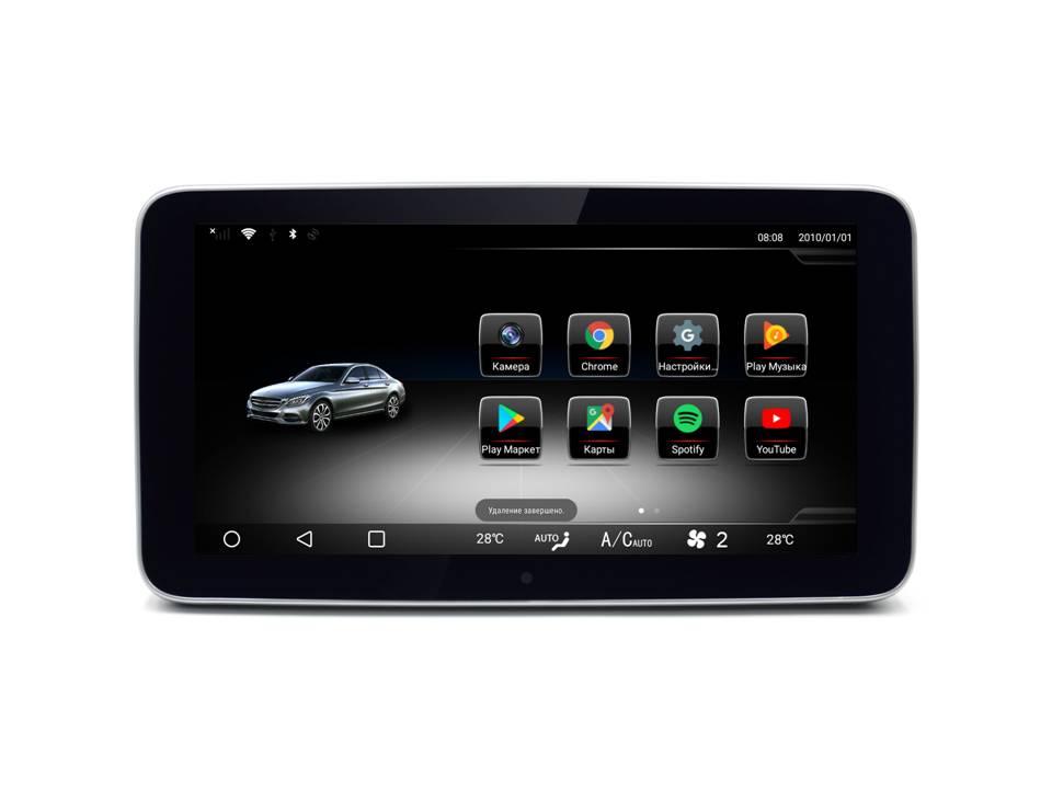 """Android 9 Монитор Radiola TC-7702  9,33"""", в штатное место для Mercedes ML/GL Class X166"""