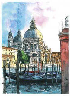Почтовая открытка Прогулки по Венеции