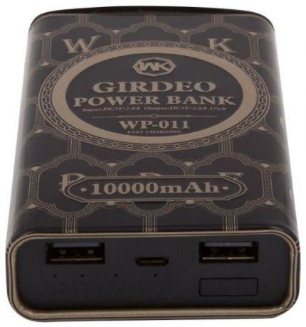 Портативное зарядное устройство WK Giedeo Series 10000 mAh WP-011
