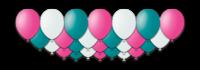 """Набор воздушных шаров с гелием """"Extravaganza"""", 25 штук"""