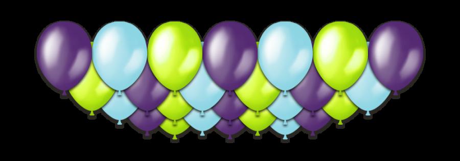 """Набор воздушных шаров с гелием """"Hilarious Metallic"""", 25 штук"""