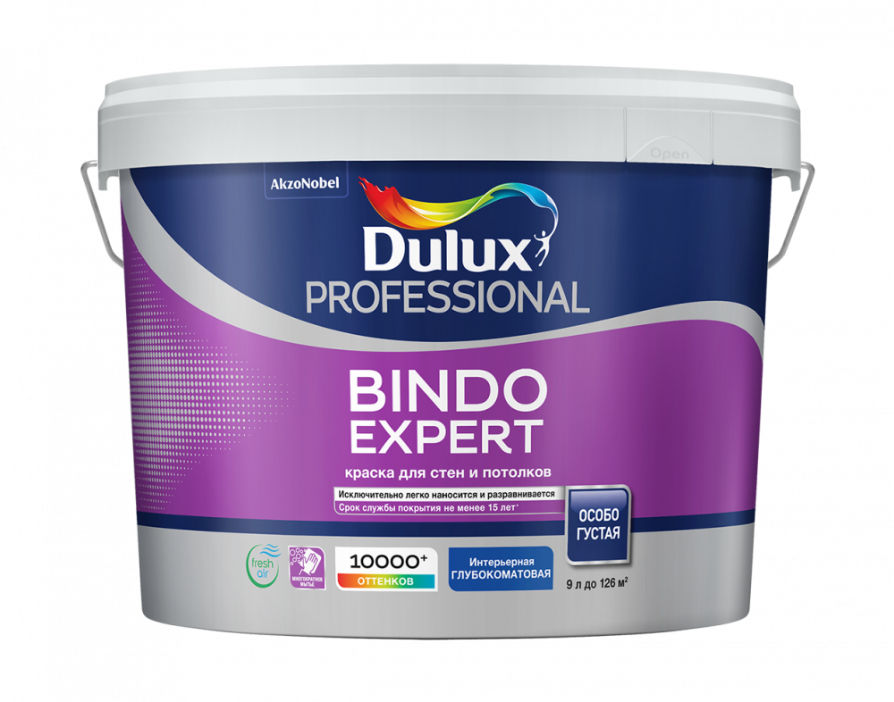 Dulux Prof Bindo Expert краска для стен и потолков