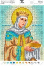 А4Р_347 Virena. Святая Равноапостольная Царица Елена. А4 (набор 700 рублей)