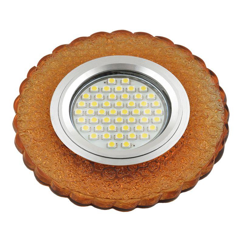 Встраиваемый светильник Fametto DLS-L140 GLASSY/GOLD