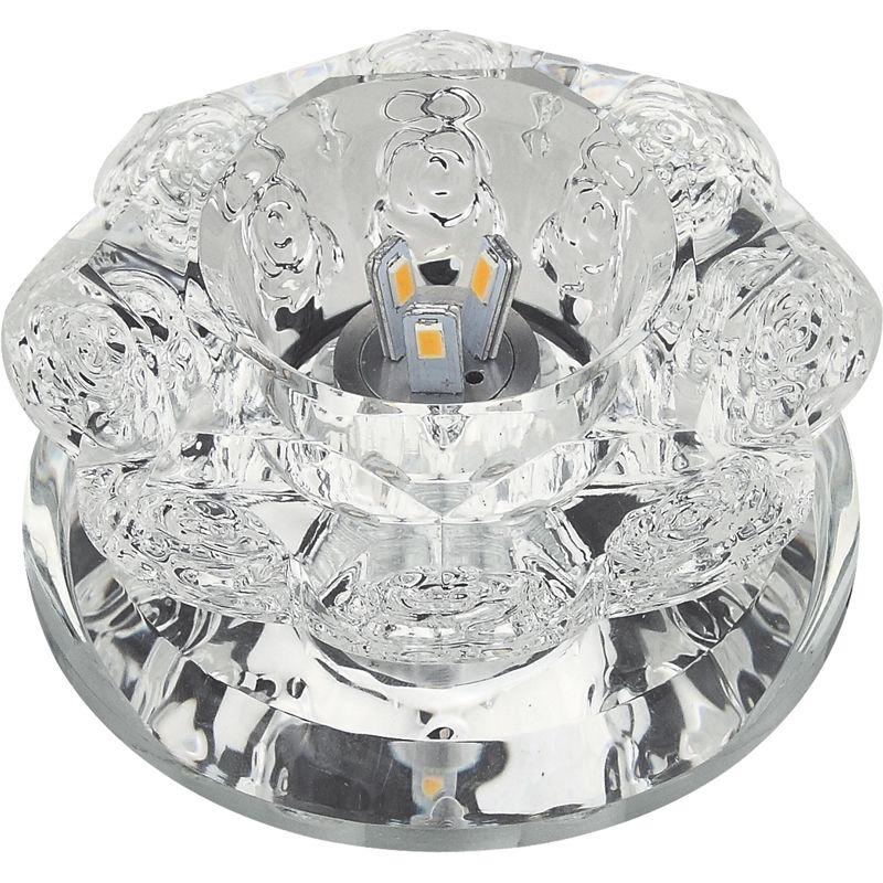 Встраиваемый светильник Fametto DLS-L301с прозр/зеркальный
