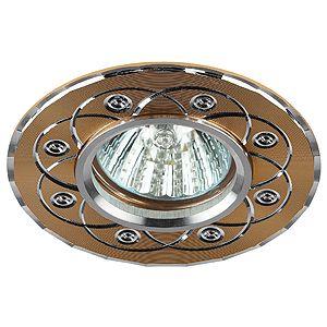 Встраиваемый светильник ЭРА KL40 SL/GD