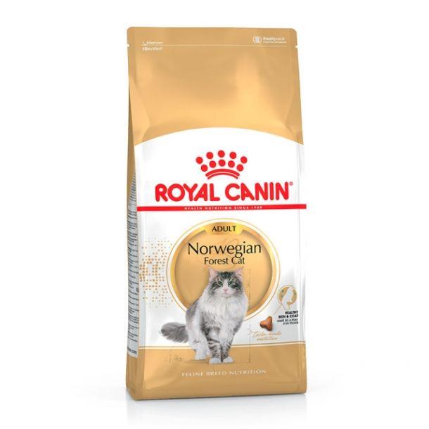 Корм сухой Royal Canin Norwegian для норвежских лесных кошек