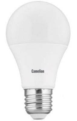 Светодиодная лампа Camelion ЛОН A60 E27 9W(720lm 270°) 4500K 4K матов. 109x60 пластик LED9-A60/845/E27