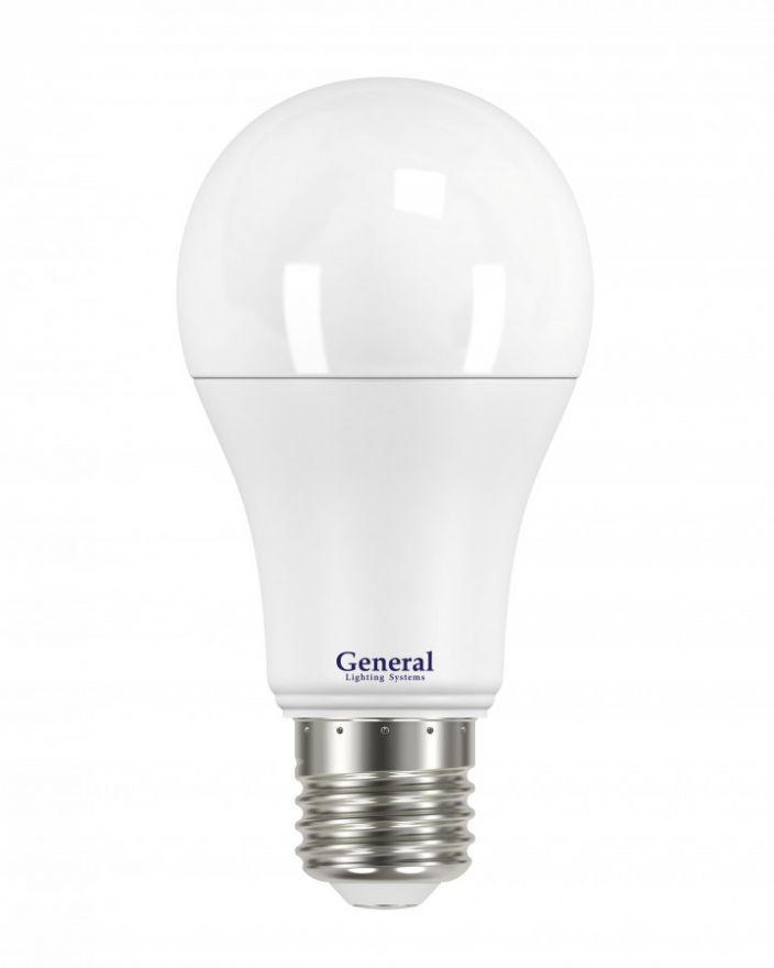 Светодиодная лампа General ЛОН A60 E27 20W 6500K 6K 60x110 пластик/алюмин. 690100