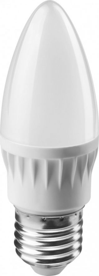 Светодиодная лампа ОНЛАЙТ свеча C37 E27 6W(470Lm) 4000K 4K 103x37 ОLL-C37-6-230-4K-E27-FR 71631