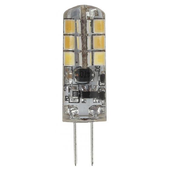 Светодиодная лампа ЭРА стандарт G4 12V 3.5W (280lm) 2700K 2К 45х16 LED-JC-3.5W-12V-827-G4