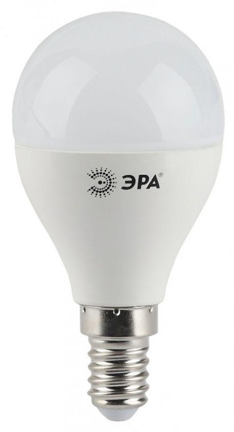 Светодиодная лампа ЭРА стандарт шар P45 E14 9W(720lm) 2700K 2K 88x45 P45-9w-827-E14 6764