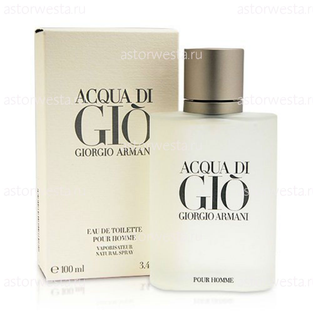 Туалетная вода Giorgio Armani Acqua Di Gio Pour Homme, 100 мл