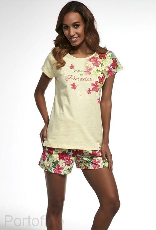 341-137 Пижама женская короткий рукав Cornette
