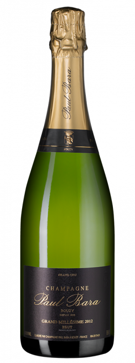 Grand Millesime Brut Grand Cru Bouzy, 0.75 л., 2012 г.