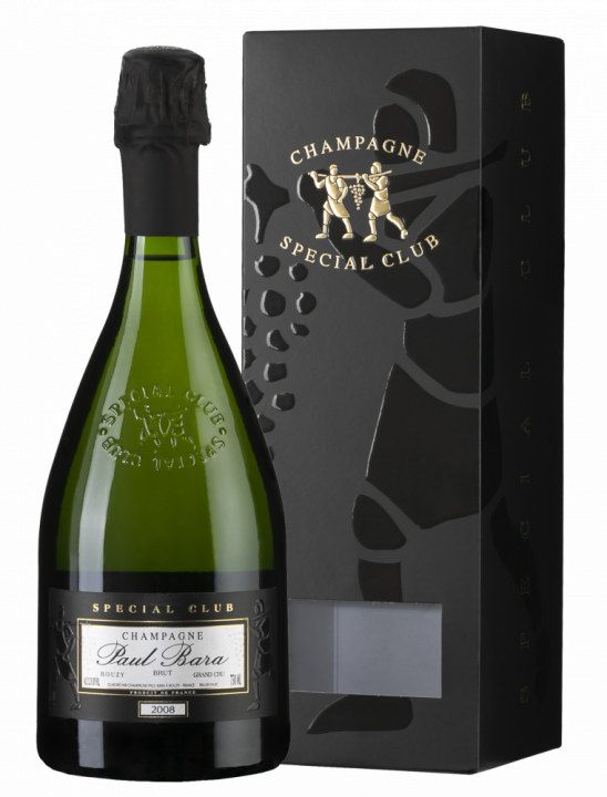 Champagne Paul Bara Special Club Brut Bouzy Grand Cru in giftbox, 0.75 л., 2009 г.