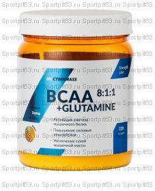 CYBERMASS BCAA 8:1:1 + GLUTAMINE (220Г) фрукт пунш