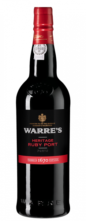 Warre`s Heritage Ruby Port, 0.75 л.