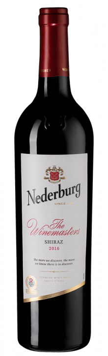 Nederburg Shiraz Winemasters, 0.75 л., 2016 г.