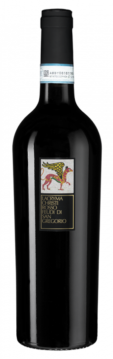 Lacryma Christi Rosso, 0.75 л., 2017 г.