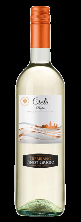 Trebbiano Pinot Grigio, 0.75 л., 2018 г.