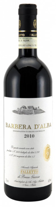 Barbera d'Alba Falletto, 0.75 л., 2016 г.