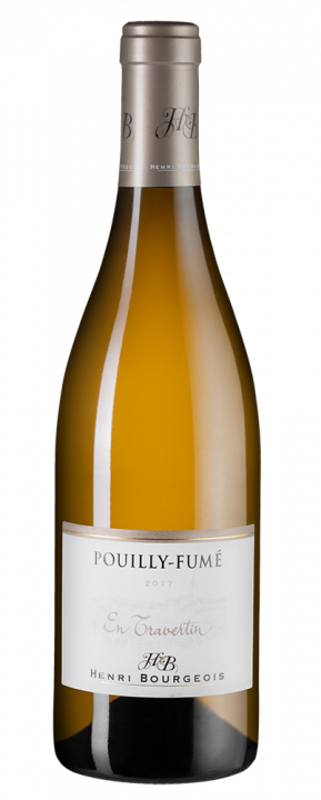 Pouilly-Fume En Travertin, 0.75 л., 2017 г.
