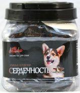"""Green Qzin Miniki """"Сердечность"""" Сушеные утиные сердечки для собак мини пород, 375г"""