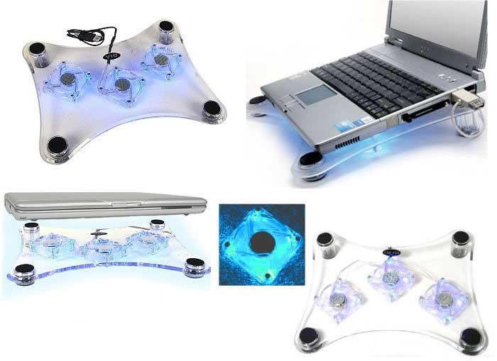 Охлаждающяя подставка для ноутбуков Notebook Cool Pad