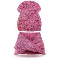 Шапка и шарф-хомут для девочек 3-5 лет, SG116