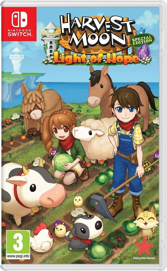 Игра Harvest Moon: Light of Hope Special Edition (Nintendo Switch)
