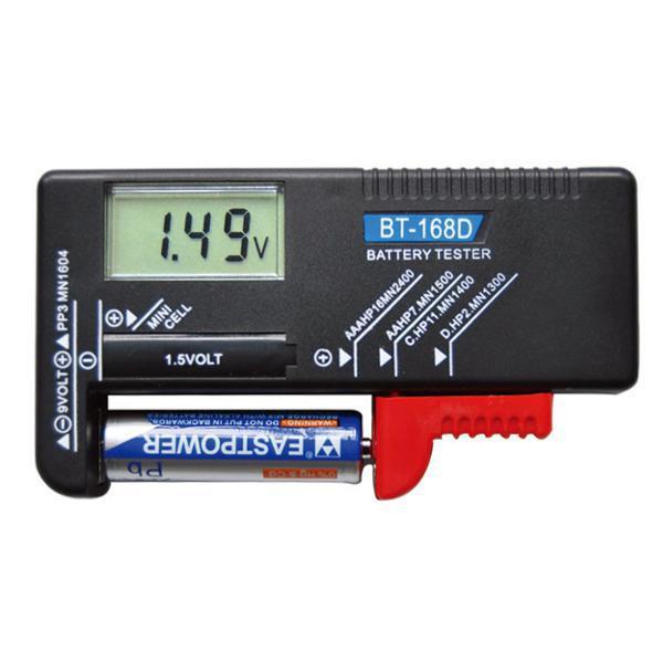 Универсальный тестер уровня заряда батареек