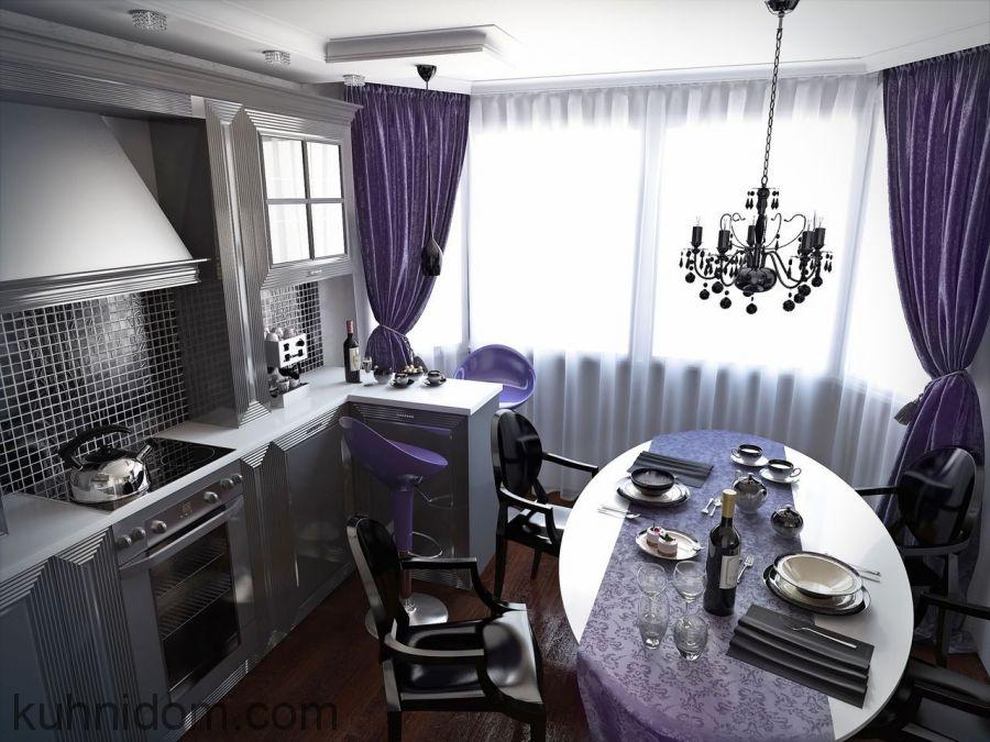 Кухня Баколи Серая
