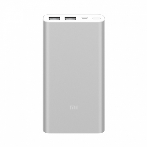 Внешний аккумулятор Xiaomi Mi Power bank 2 10000 мАч - серебристый
