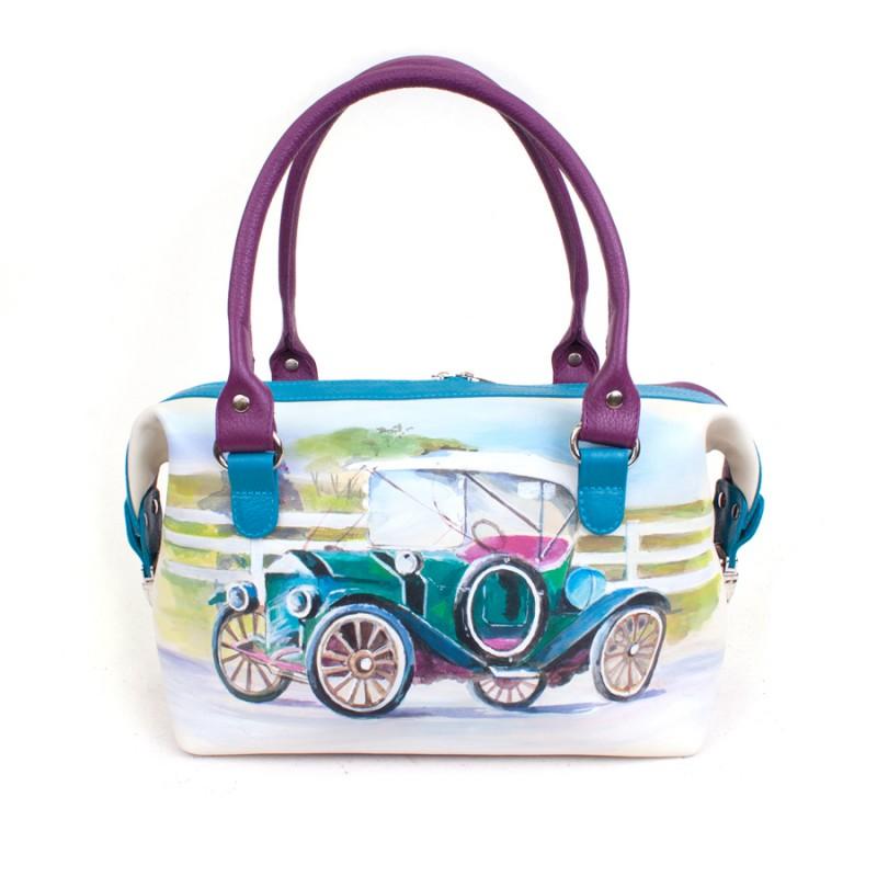 Маленькая сумочка Ретромобиль >Артикул: AA410101