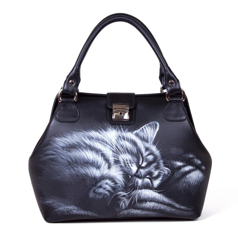 Саквояж Спящий котик >Артикул: AB040121