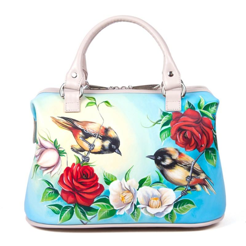 Саквояж Птицы на ветке >Артикул: AB010371