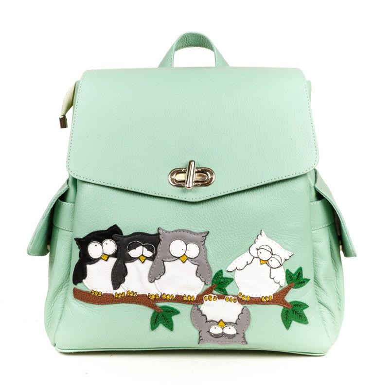 Женский рюкзак Совята на ветке >Артикул: AF010373