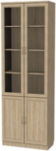 Шкаф для книг (модуль 206) дуб сонома