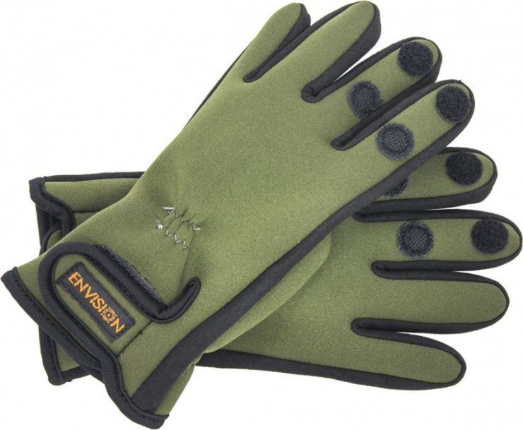 Перчатки  2,5 mm спортивные неопрен зеленый
