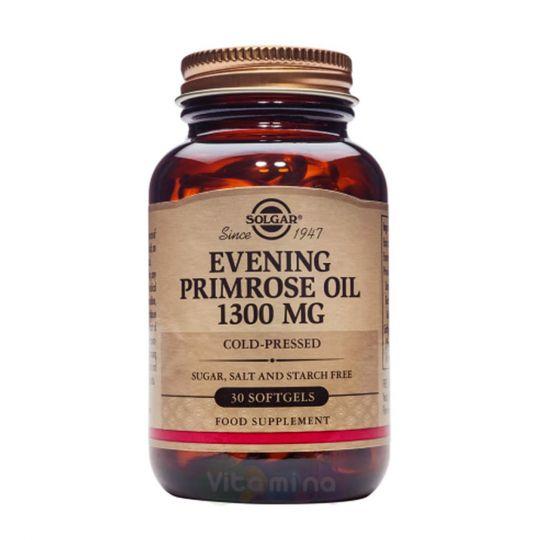 Солгар Масло примулы вечерней 1300 мг (30 капсул)