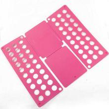 Рамка для складывания взрослой одежды Clothes Folder (Клозес Фолдер), Цвет: Розовый