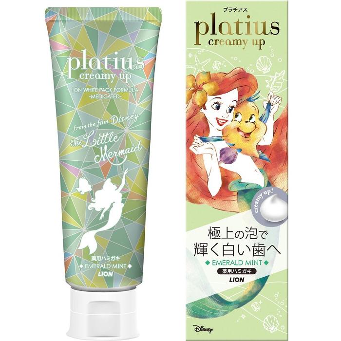 Lion Platius Creamy Up Зубная паста для восстановления белизны и красоты зубной эмали 90 гр