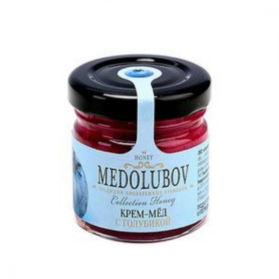 Крем-мёд Medolubov с голубикой 40мл