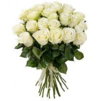 Розы белые от 25 шт.